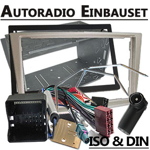 Autoradio-Einbauset