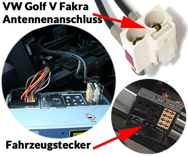 VW-Golf-V-Autoradio-Anschlüsse