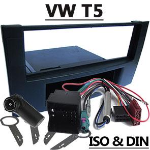 VW-T5-Fremdradio-Einbauset-für-Delta-mit-1-DIN