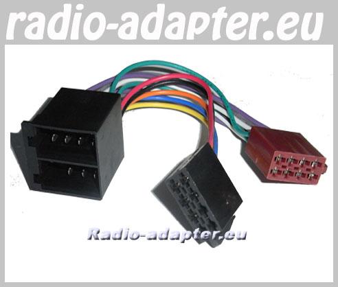 Fiat Panda Radioadapter Autoradio Adapter Radioanschlusskabel ...