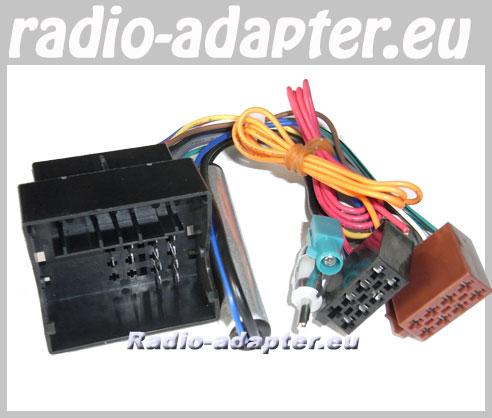 Opel Zafira Radioadapter + Antennenadapter DIN Autoradioanschluss ...