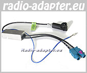 VW Golf Plus ab 2005 Diversity Antennenadapter ISO mit Fakra