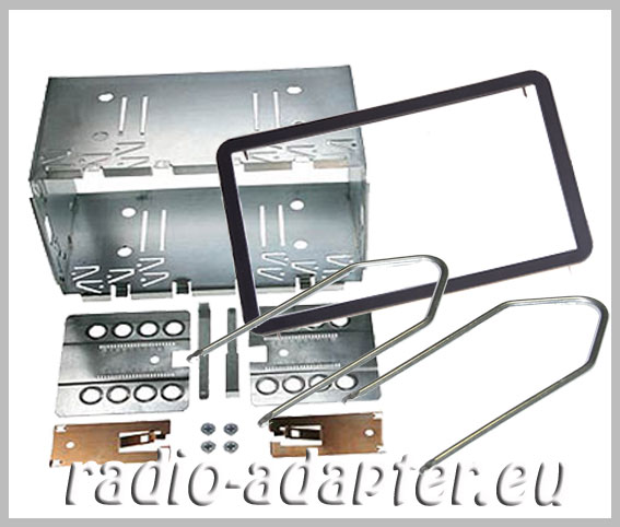 alfa 159 doppel din radioblende einbauschacht blechrahmen autoradio. Black Bedroom Furniture Sets. Home Design Ideas