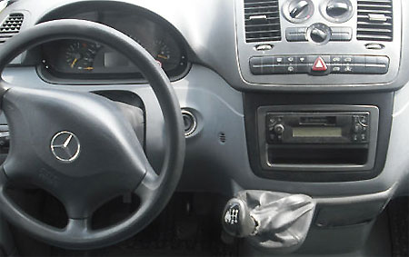 Mercedes-Benz Vito 2004 - 2006 Radio