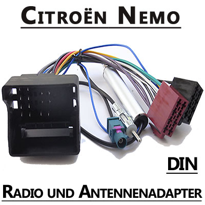 citroen nemo autoradio anschlusskabel din antennenadapter Citroen Nemo Autoradio Anschlusskabel DIN Antennenadapter Citroen Nemo Autoradio Anschlusskabel DIN Antennenadapter