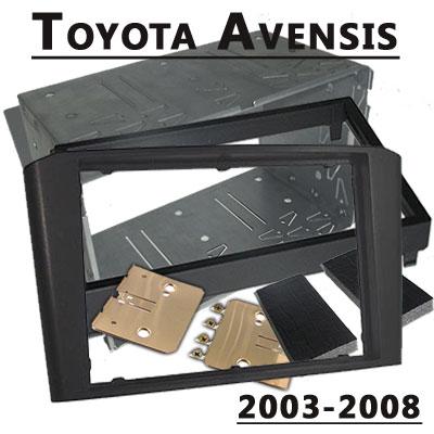 Doppel-DIN-Radioeinbauset-für-Toyota-Avensis