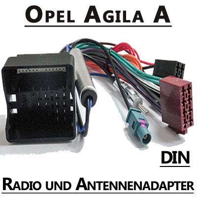 Opel-Agila-A-Autoradio-Anschlusskabel