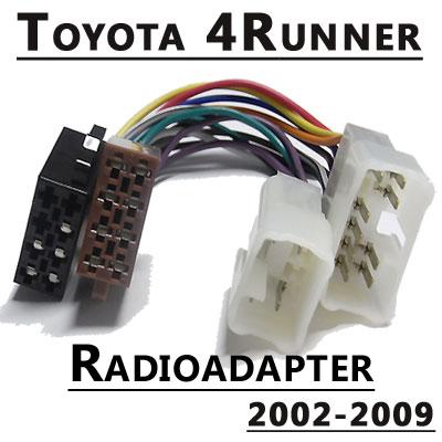 Radioadapter-für-Toyota-4Runner