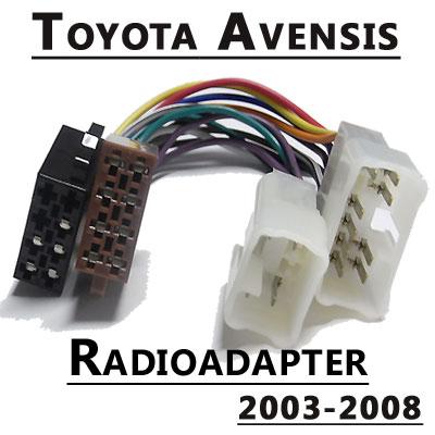 Radioadapter-für-Toyota-Avensis