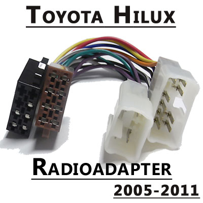 Radioadapter-für-Toyota-Hilux