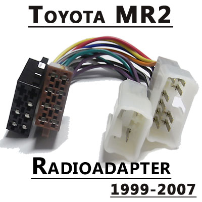 Radioadapter-für-Toyota-MR2