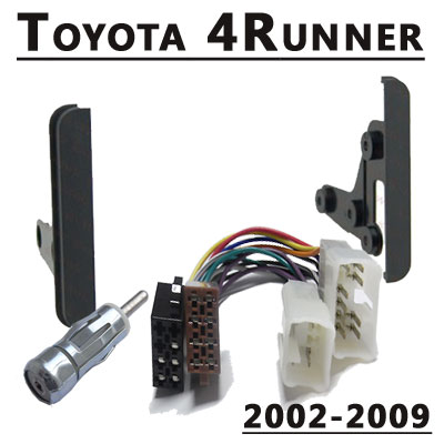 Toyota-4Runner-Radio-Einbauset-Doppel-DIN-2002-2009