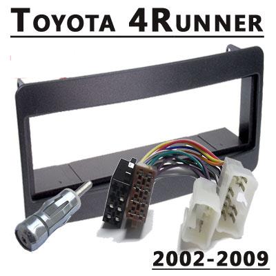 Toyota-4Runner-Radioeinbauset-1-DIN-2002-2009