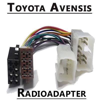 Toyota-Avensis-Autoradio-Anschlusskabel
