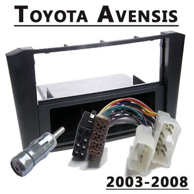 Toyota-Avensis-Radioeinbauset-1-DIN-2003-2008