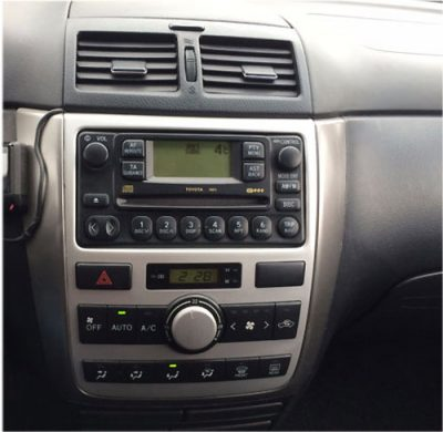Toyota-Avensis-Verso-Radio-2005 Toyota Avensis Verso Radio Einbauset Doppel DIN 2001-2005 Toyota Avensis Verso Radio Einbauset Doppel DIN 2001-2005 Toyota Avensis Verso Radio 2005