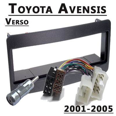 toyota avensis verso radioeinbauset 1 din 2001-2005 Toyota Avensis Verso Radioeinbauset 1 DIN 2001-2005 Toyota Avensis Verso Radioeinbauset 1 DIN 2003 2005
