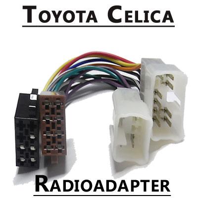 Toyota-Celica-Autoradio-Anschlusskabel