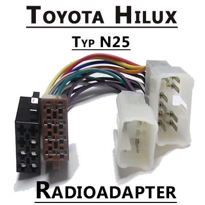 Toyota-Hilux-Autoradio-Anschlusskabel