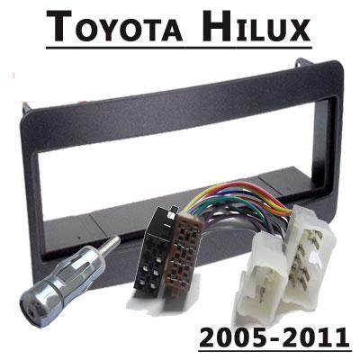 Toyota-Hilux-Radioeinbauset-1-DIN-2005-2011