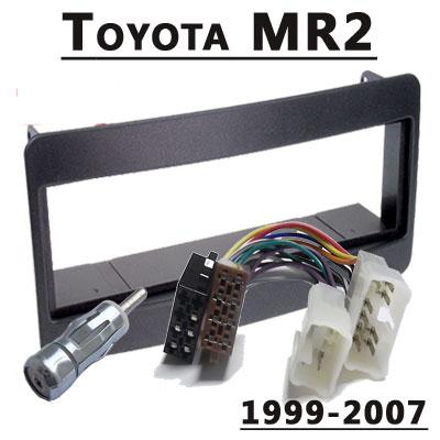 Toyota-MR2-Radioeinbauset-1-DIN-1999-2007
