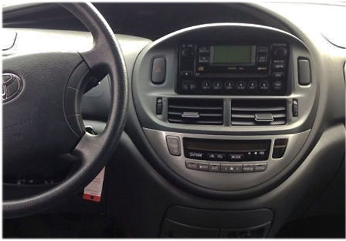 Toyota-Previa-Radio-2004 toyota previa radioeinbauset 1 din 2000-2006 Toyota Previa Radioeinbauset 1 DIN 2000-2006 Toyota Previa Radio 2004