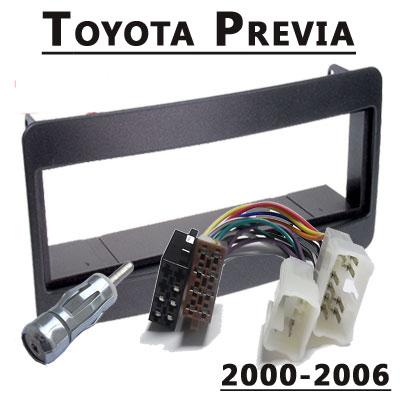 Toyota-Previa-Radioeinbauset-1-DIN-2000-2006