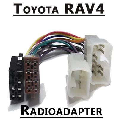 Toyota-RAV4-Autoradio-Anschlusskabel