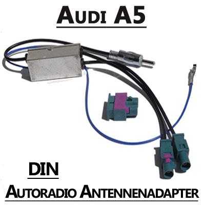 Audi A5 Antennenadapter mit Antennendiversity DIN Audi A5 Antennenadapter mit Antennendiversity DIN Audi A5 Antennenadapter mit Antennendiversity DIN