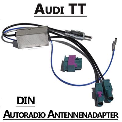 Audi TT Antennenadapter mit Antennendiversity DIN Audi TT Antennenadapter mit Antennendiversity DIN Audi TT Antennenadapter mit Antennendiversity DIN