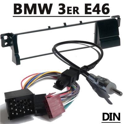 BMW 3er E46 Radioeinbauset mit Antennenadapter DIN 17PIN BMW 3er E46 Radioeinbauset mit Antennenadapter DIN 17PIN BMW 3er E46 Radioeinbauset mit Antennenadapter DIN 17PIN