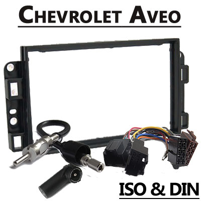 Chevrolet Aveo 2 DIN Radio Einbauset Chevrolet Aveo 2 DIN Radio Einbauset Chevrolet Aveo 2 DIN Radio Einbauset