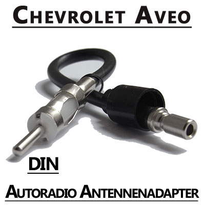 Chevrolet-Aveo-Autoradio-Antennenadapter-DIN