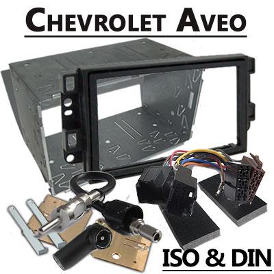 Chevrolet Aveo Autoradio Einbauset Doppel DIN Chevrolet Aveo Autoradio Einbauset Doppel DIN Chevrolet Aveo Autoradio Einbauset Doppel DIN