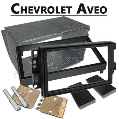 Chevrolet-Aveo-Doppel-DIN-Radio-Einbaurahmen