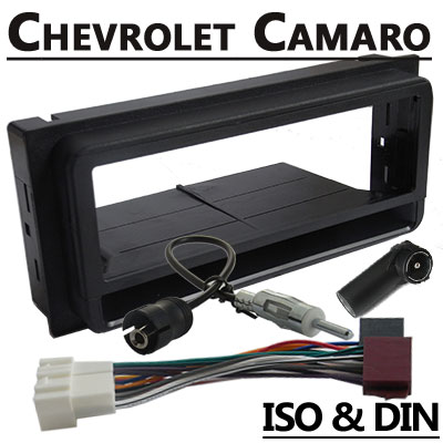 Chevrolet-Camaro-Radioeinbauset-1-DIN-mit-Fach
