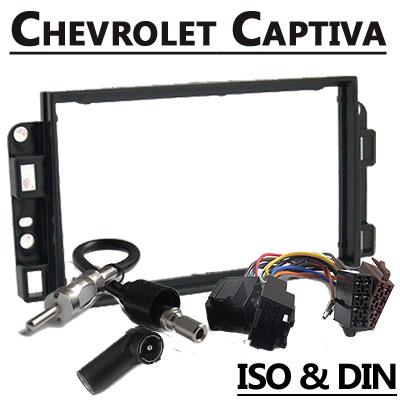 Chevrolet-Captiva-2-DIN-Radio-Einbauset