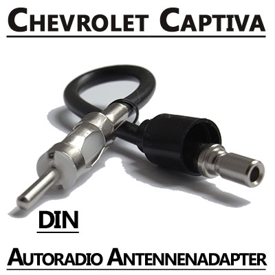 Chevrolet-Captiva-Autoradio-Antennenadapter-DIN
