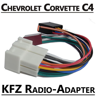 Chevrolet Corvette C4 Radio Adapter Kabel Chevrolet Corvette C4 Radio Adapter Kabel Chevrolet Corvette C4 Radio Adapter Kabel