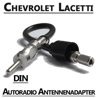 Chevrolet-Lacetti-Autoradio-Antennenadapter-DIN
