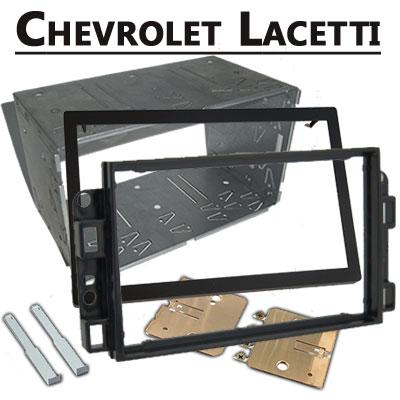 Chevrolet-Lacetti-Doppel-DIN-Radio-Einbaurahmen