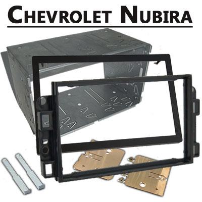 Chevrolet-Nubira-Doppel-DIN-Radio-Einbaurahmen