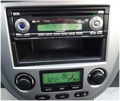 Chevrolet-Nubira-Radio-2008 Chevrolet Nubira Autoradio Einbauset 1 DIN mit Fach Chevrolet Nubira Autoradio Einbauset 1 DIN mit Fach Chevrolet Nubira Radio 2008