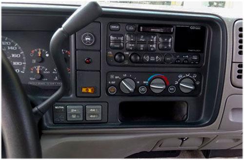 Chevrolet-Tahoe-Radio-2000 chevrolet tahoe radioeinbauset 1 din mit fach Chevrolet Tahoe Radioeinbauset 1 DIN mit Fach Chevrolet Tahoe Radio 2000