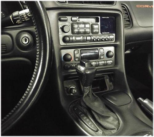 Corvette-Radio-2000 Corvette C5 Radioeinbauset 1 DIN mit Fach Corvette C5 Radioeinbauset 1 DIN mit Fach Corvette Radio 2000