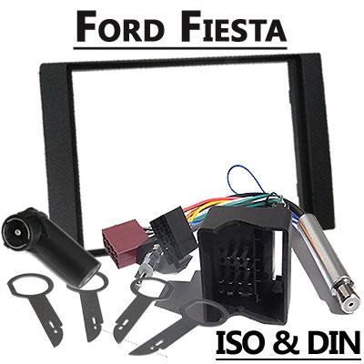 Ford Fiesta 2 DIN Radio Einbauset Ford Fiesta 2 DIN Radio Einbauset Ford Fiesta 2 DIN Radio Einbauset