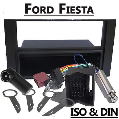 Ford-Fiesta-Autoradio-Einbauset-1-DIN-mit-Fach