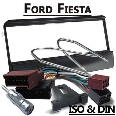 Ford-Fiesta-Autoradio-Einbauset-für-1-DIN-Radios