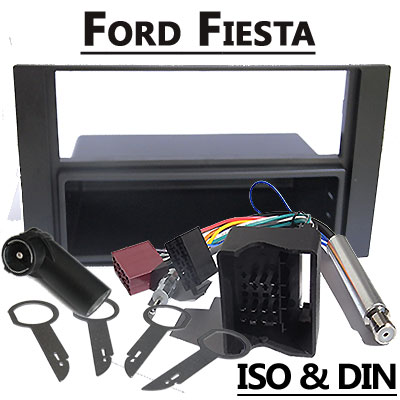 Ford Fiesta Radioblende und Adapter anthrazit Ford Fiesta Radioblende und Adapter anthrazit Ford Fiesta Radioblende und Adapter anthrazit
