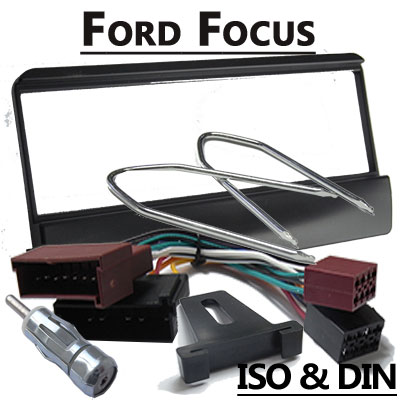 ford focus i autoradio einbauset f r 1 din radios. Black Bedroom Furniture Sets. Home Design Ideas